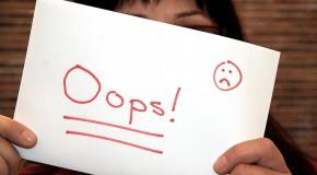 5 errores comunes a la hora de emprender