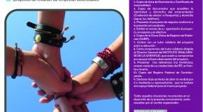 Convocatoria: Emprendedores Juveniles ISJU